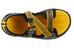 Keen Rock Iguana Sandals Youth black/yellow